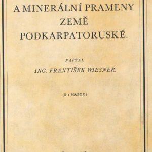 Vodstvo a minerální prameny země Podkarpatoruské