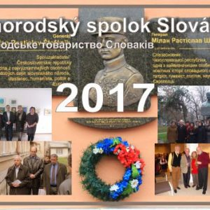 Kapesní kalendář - Užhorodský spolok Slovákov 2017