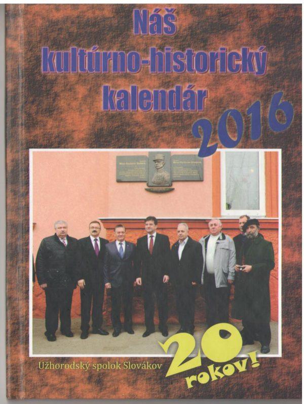 Náš kultúrno-historický kalendár 2016